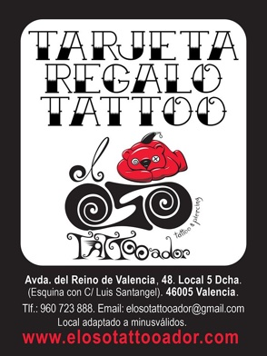 El OSO TATTOOador - Regala tattoos